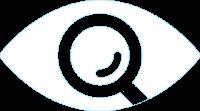 Linssinhinta.fi valkoinen silmälogo